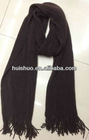 knitted wool men winter scarf
