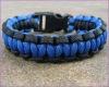 Parachute Cord Bracelet, Adjustable buckle 550 Paracord Survival Bracelet