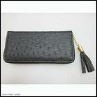 latest fashion pu leather dots zipper tassel shopping lady hand purse bag for ladys 2012 popular