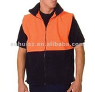 Hivis wasit, workwear, full zip at fron