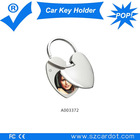 car key ring promotion,car key holder for chiristmas day ,best lovable key holder,alloy material,OEM support