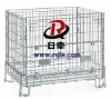 European wire container ,mesh container, wire storage cage