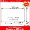 Steel car radiator 16400-G068 for Toyota