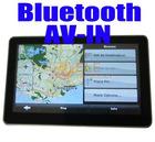 5 inch Bluetooth + AV-IN +FM +MP3 MP4 + 4GB memory + free Map Car GPS