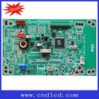 The board be suitable for AD Player/bus TV/Monitor,Use Mstar V39 IC,To replace the AV9E19.Optional AV/BNC port.Support AV1/AV2/A