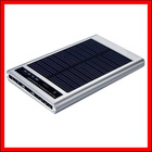 Solar Powered Charger for Cell Phone MP3 PDA Camera with Flashlight GW-SP075