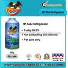 99.7% pure r-134a refrigerant