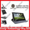 "360 Degree Rotatory Stand Leather Case for Asus Eee Pad Tablet 10.1"" Inch TF101 with Elastic Strip"