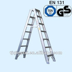 QT-GY-B11 Aluminum double-sided industrial step ladder