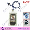 Suitable for iphone and MP4 player zip PVC waterproof bags