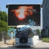 Mobile LED Display vehicle,outdoor mobile advertising vehicle