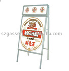 double-side poster stand