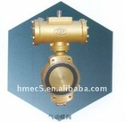 marine center air operated butterfly valve