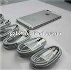 8pin White for iphone 5 cable factory,paypal accepted
