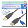 2.0 USB cable AM/AF with ROHS standard