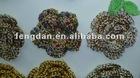 new design handmade crochet flower for headband,garment,shoes,bag accessories