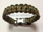 cheap customize paracord bracelet with buckle