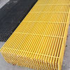high strength Pultruded FRP Grating for roadway trench cover, tree grating, car washing