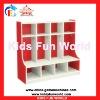 2012 latest children bookshelf toy cabinet