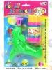Supper Plastic Bubble Gun.Plastic bubble toys,plastic toys