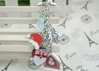 Santa Claus charm keychain