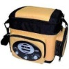 Cooler bag/lunch bag with a AM/FM radio