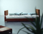 modern beautiful strong quality rattan foot bed