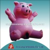 new design inflatable pink pig