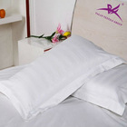 100% cotton 3cm stripe hotel pillow case
