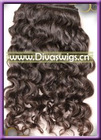 fashion brown curly Indian Remy human Hair weaving
