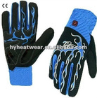 2012 new and colorful battery heated bicycle gloves with LED lights