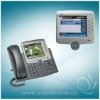 Cisco 7975 VoIP Phone (CP-7975G) - Eight Lines - Large Color LCD Display