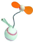 Baseball USB fan