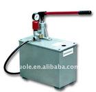 Simplex hand powered pressure test pump in S-SB (2.5-16MPa) series