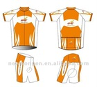 Full zip custom cycling wear