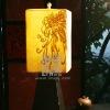 L114-87.82 Chrysanthemum Resin Table Lamp