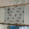 Static decorative window film