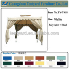 steel gazebo canopy