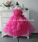 Flower girl dress lovey design in hot sale FS-A105