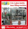 18-18-6 glass beer filling machine