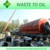 NO POLLUTION waste tyre recycle machine