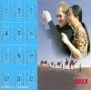2012 latest fashion wall calendar