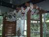aluminium flower shelf