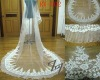 2011, newest tulle, lace edge, one layer bridal veil RV-002