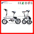 GT-6-14LD One second folding electric bicycle 14 inch e bicycle