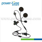 Radio headset helmet for Motorcycle use with the 3 to 5mm range Speaker for Tetra Machine