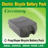 36V/9Ah li-ion battery pack for ebike