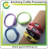 Silicone rubber bracelets ion sport watches