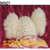 2012 Fashion knit hat newborn crochet hat