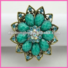 2012 Hot bdiamond jewely cheap napkin ring for events